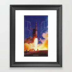Engine | Design Framed Art Print