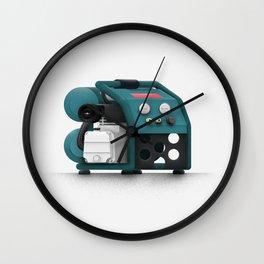 Tool Compressor Wall Clock