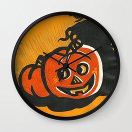 Halloween Grin Wall Clock