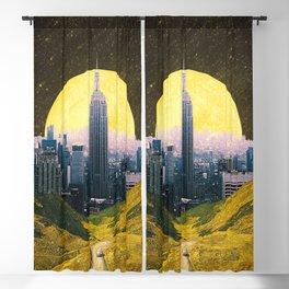 Moonlit City Blackout Curtain
