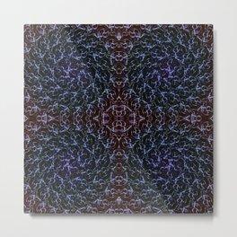 Ascension Convergence Pattern Metal Print