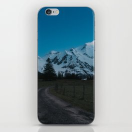 Into the Night - Landscape and Nature Photography iPhone Skin