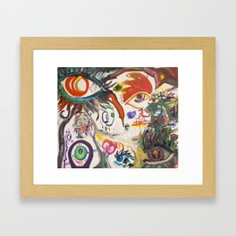 The Hero's Vision Framed Art Print