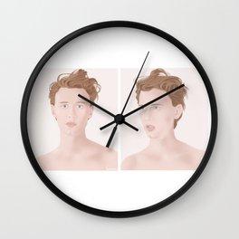 Henrik Holm illustration #3 Wall Clock