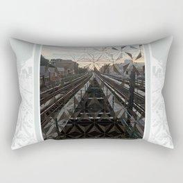 LIFE TRACKS Rectangular Pillow