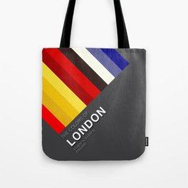 Colors of London Tote Bag