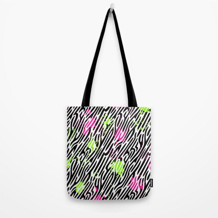 Wild Zebra Print Tote Bag