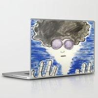 hippie Laptop & iPad Skins featuring Hippie by ArtAngel