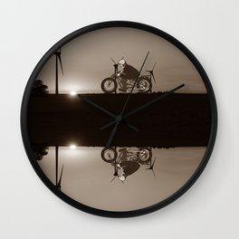 "The ""DEICH"" RIDER Wall Clock"