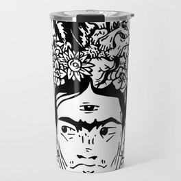 Viva la Frida Travel Mug