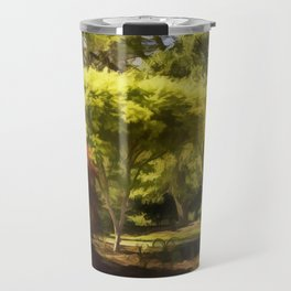 A Walk In The Woods Painting Travel Mug