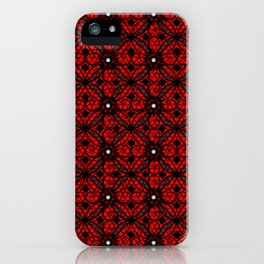 Red Gothic iPhone Case