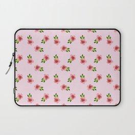 Pattern Background Flowers Laptop Sleeve