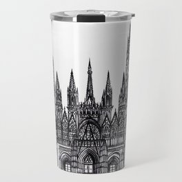 Rouen Cathedral Travel Mug