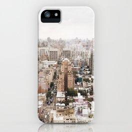 Rosy New York iPhone Case