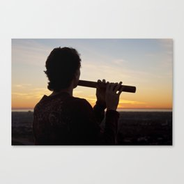 Sunset Tunes Canvas Print