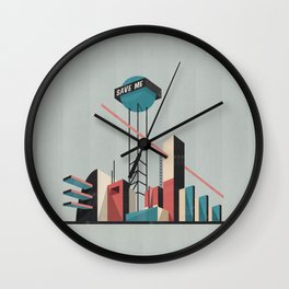 Save me city Wall Clock