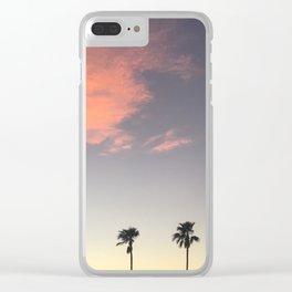 california 2 Clear iPhone Case
