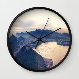 Rio Sequence 1/3 Wall Clock