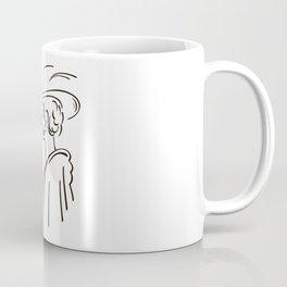 Retro portrait of man Coffee Mug