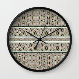 Islamic Art Pattern Wall Clock