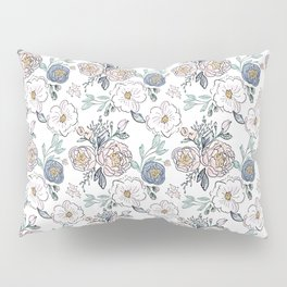 Indy Bloom Design Periwinkle Rose Pillow Sham