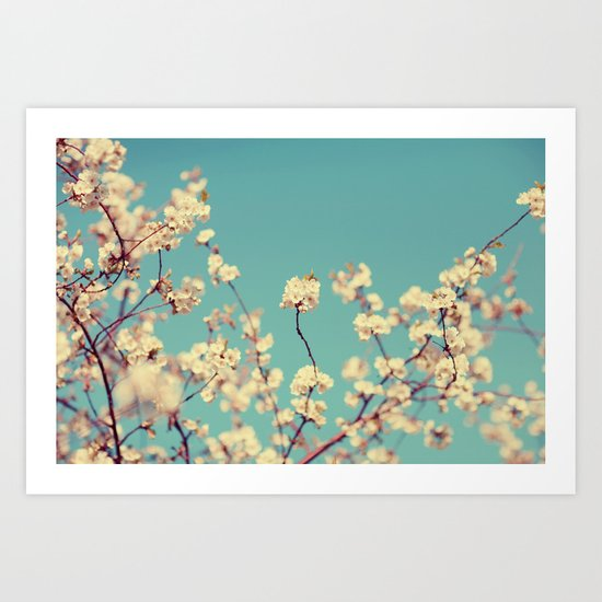 Not A Cloud In The Sky Art Print