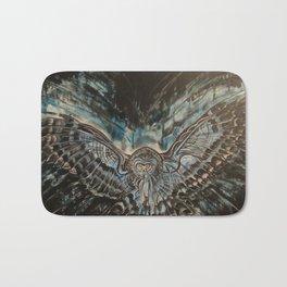 Shadow Owl - Bringer of Night Bath Mat