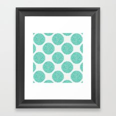 Petal Burst #12 Circles Framed Art Print