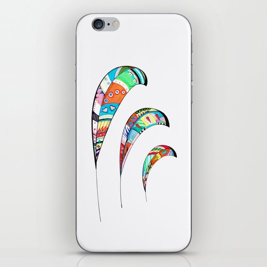 Plumas iPhone & iPod Skin