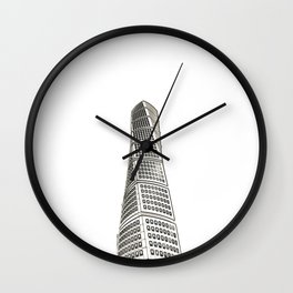 Architecture: Turning Torso Wall Clock