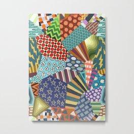 Pattern Explosion 2 Metal Print