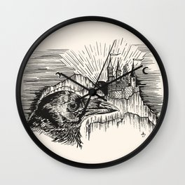 """""""A MASTER'S WATCHFUL EYES"""" Wall Clock"""