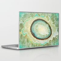 minerals Laptop & iPad Skins featuring MINERALISTIC by Catspaws