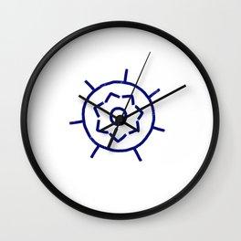 Peace Mandala Wall Clock