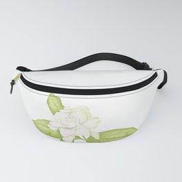 Gardenia Flower Fanny Pack