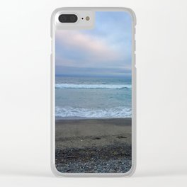 Rocky Malibu Sea Clear iPhone Case