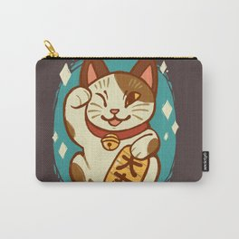 Lucky Cat Carry-All Pouch