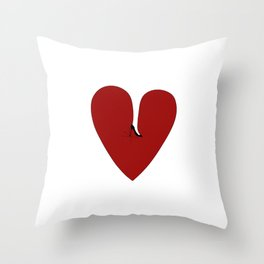 Heel my heart Throw Pillow