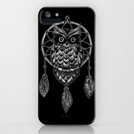 Dream Catcher Owl iPhone Case