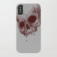 mortal instruments iPhone & iPod Cases featuring mortal coil by Isaboa