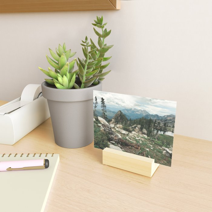 Utah Alpine Mini Art Print