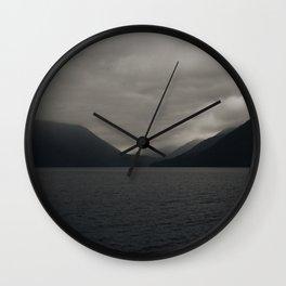 Moody Lake Wall Clock