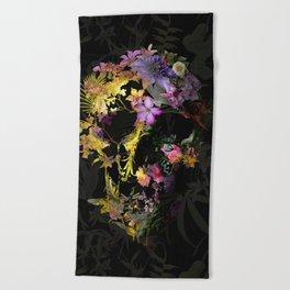 Spring Skull Beach Towel