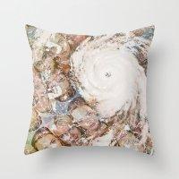 lindsay lohan Throw Pillows featuring Lindsay/Katrina  by THE LAST