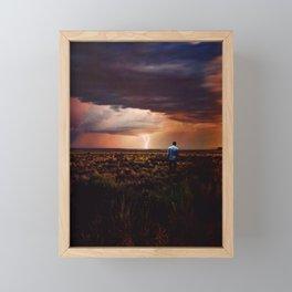 Thunder Framed Mini Art Print