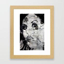 LA Ink Framed Art Print