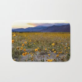 Anza Borrego Sunflowers Bath Mat