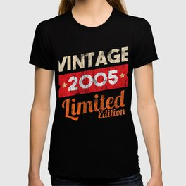 Vintage 2005 Limited Edition 13rd Birthday Gifts Legendary T-shirt