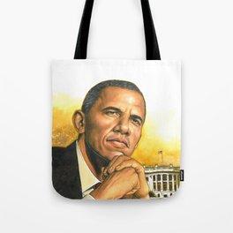 Barack Obama #2 Tote Bag